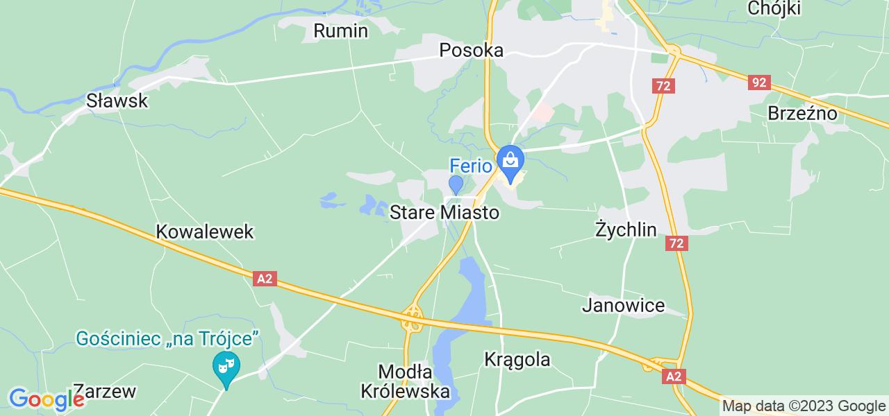 Dostępne w Starym Miascie lokalizacje punktów nadania, z których możesz skorzystać, chcąc wysłać turbinę do regeneracji w największym serwisie w Polsce