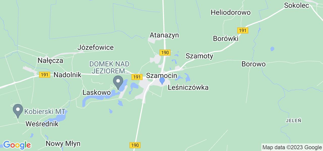 Dostępne w Szamocinie lokalizacje punktów nadania, z których możesz skorzystać, chcąc wysłać turbinę do regeneracji w największym serwisie w Polsce