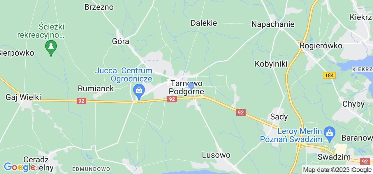 Dostępne w Tarnowie Podgórnym lokalizacje punktów nadania, z których możesz skorzystać, chcąc wysłać turbinę do regeneracji w największym serwisie w Polsce