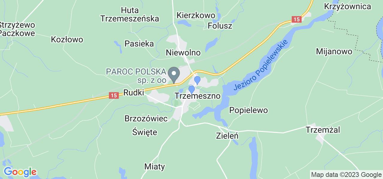 Dostępne w Trzemesznie lokalizacje punktów nadania, z których możesz skorzystać, chcąc wysłać turbinę do regeneracji w największym serwisie w Polsce