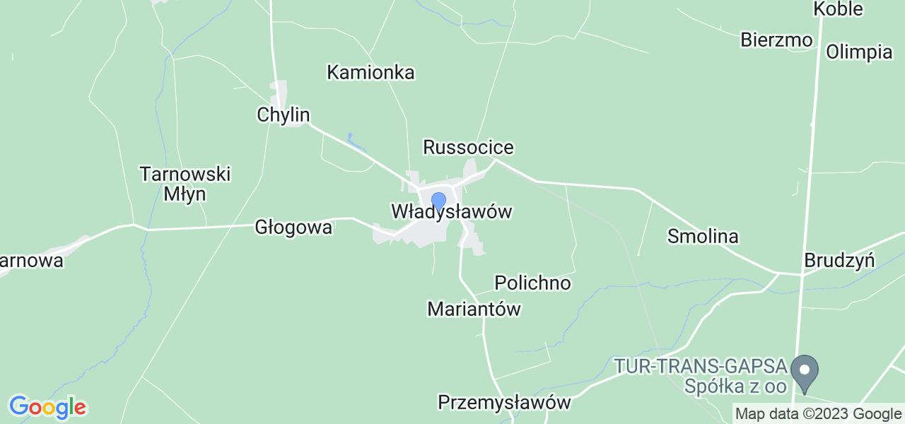 Dostępne w Władysławowie lokalizacje punktów nadania, z których możesz skorzystać, chcąc wysłać turbinę do regeneracji w największym serwisie w Polsce