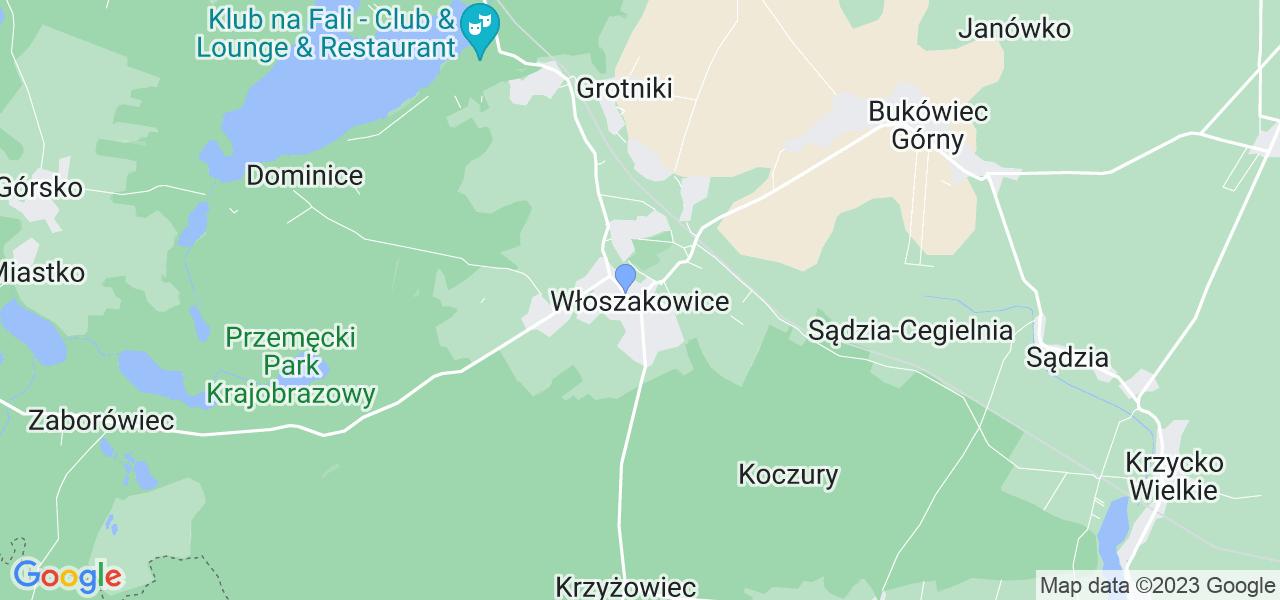 Dostępne w Włoszakowicach lokalizacje punktów nadania, z których możesz skorzystać, chcąc wysłać turbinę do regeneracji w największym serwisie w Polsce