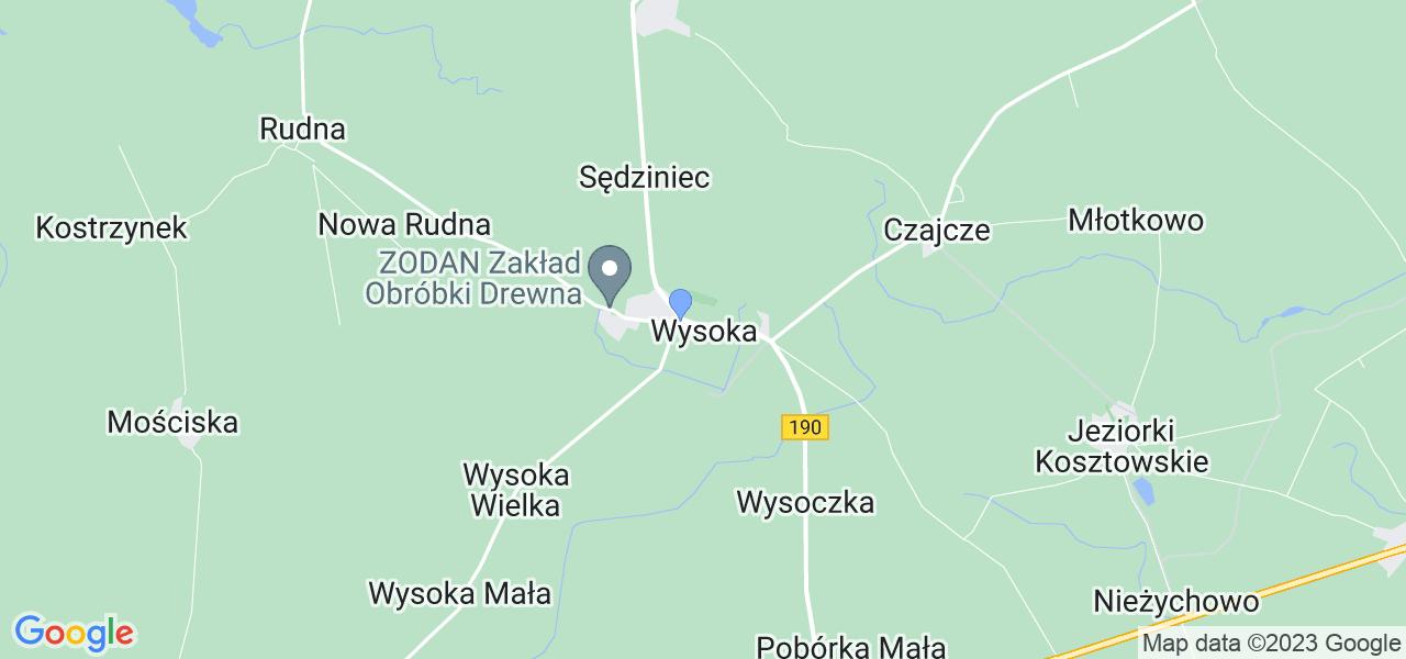 Dostępne w Wysokiej lokalizacje punktów nadania, z których możesz skorzystać, chcąc wysłać turbinę do regeneracji w największym serwisie w Polsce