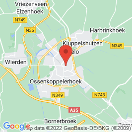 Google map of Het Rechthuys, Almelo