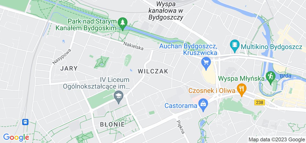 Osiedle Wilczak Mały w Bydgoszczy – w tych punktach ekspresowo wyślesz turbinę do autoryzowanego serwisu