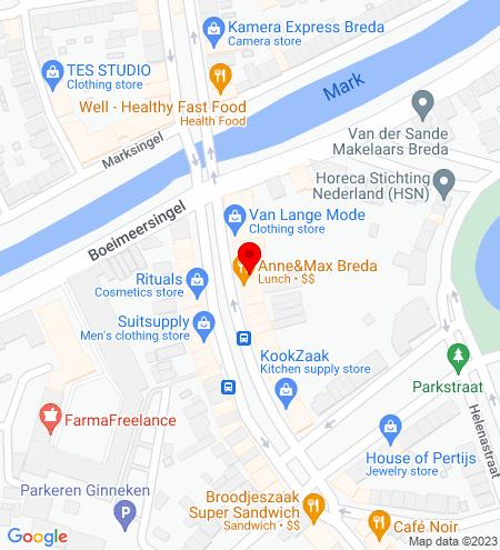 Google Map of Wilhelminastraat 15 4818 SB Breda