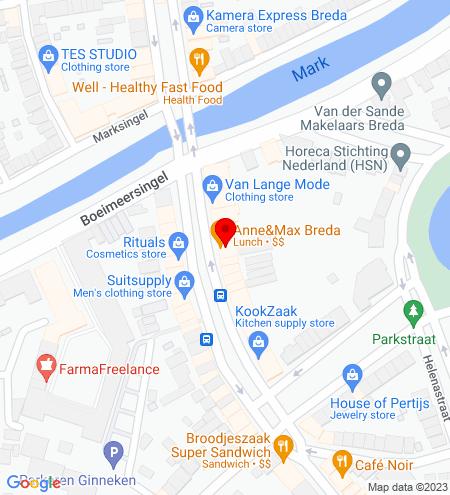 Google Map of Wilhelminastraat 17 4818 SB Breda