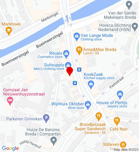 Google Map of Wilhelminastraat 26 4818 SH Breda