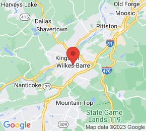 Job Map - Wilkes-barre, Pennsylvania  US