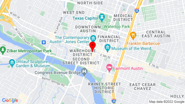 Google Map of Will be announced when tickets are purchased, Austin, TX