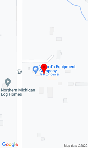 Google Map of Willard's Equipment Co. 255 South M-33, West Branch, MI, 48661