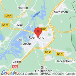 Google map of BACO-gebouw, Roermond