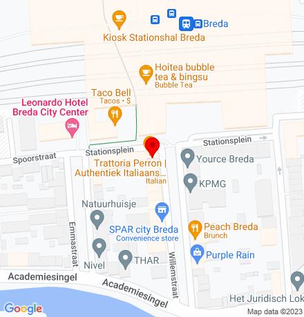 Google Map of Willemstraat 29 4811 AJ Breda