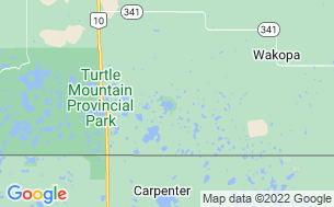 Map of William Lake Provincial Park