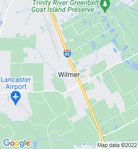 Wilmer TX Map