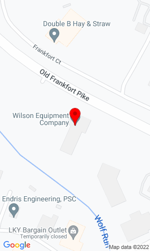 Google Map of Wilson Equipment Company 2180 Old Frankfort Pike, Lexington, KY, 40510,
