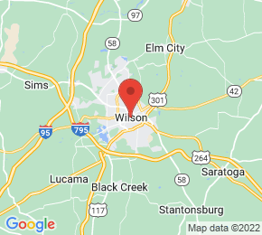 Job Map - Wilson, North Carolina  US
