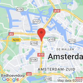 Google map of WOW, Amsterdam