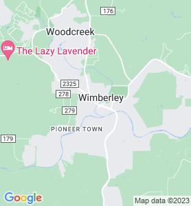 Wimberley TX Map