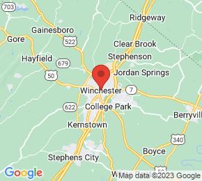 Job Map - Winchester, Virginia  US