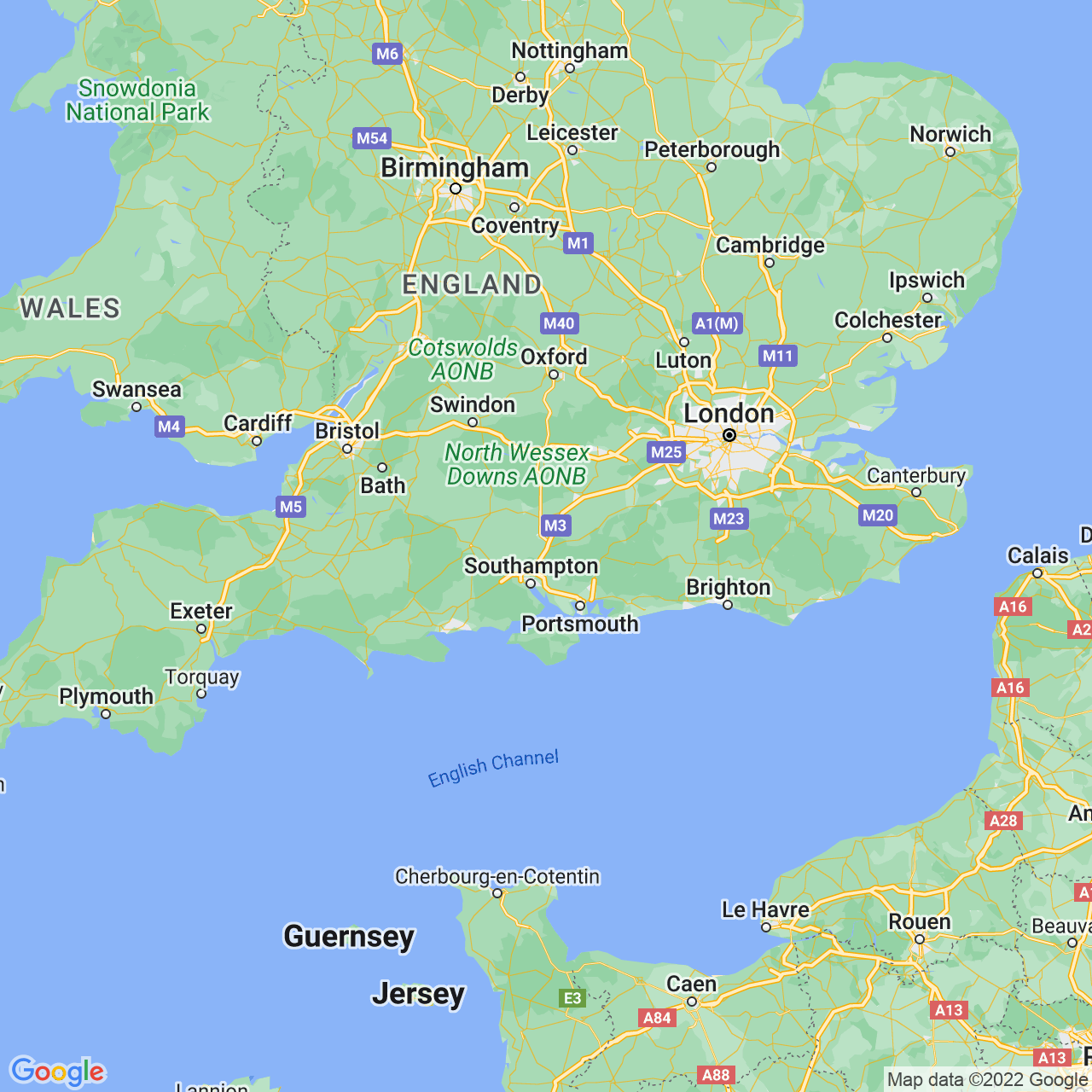 Winchester, England Map