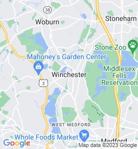 Winchester MA Map