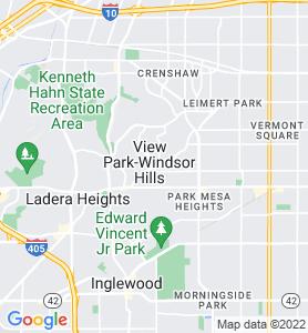 Windsor Hills CA Map