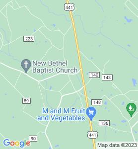 Winston GA Map