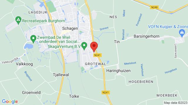 Schagen op Google Maps