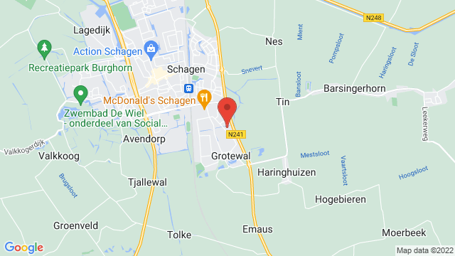 Mitsubishi+Schagen op Google Maps