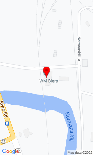 Google Map of Wm. Biers Incorporated 100 Port Street, Albany, NY, 12202