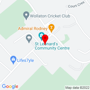 Static Map for Wollaton Library