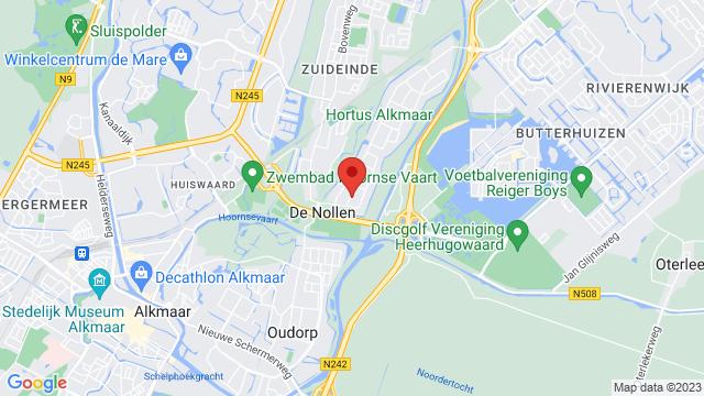 Stokman+Alkmaar op Google Maps