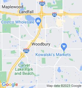 Woodbury MN Map