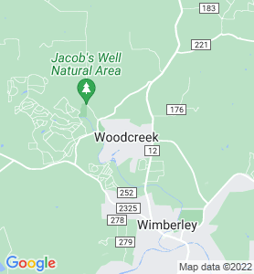Woodcreek TX Map