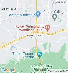 Woodland Hills CA Map