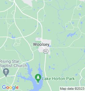 Woolsey GA Map