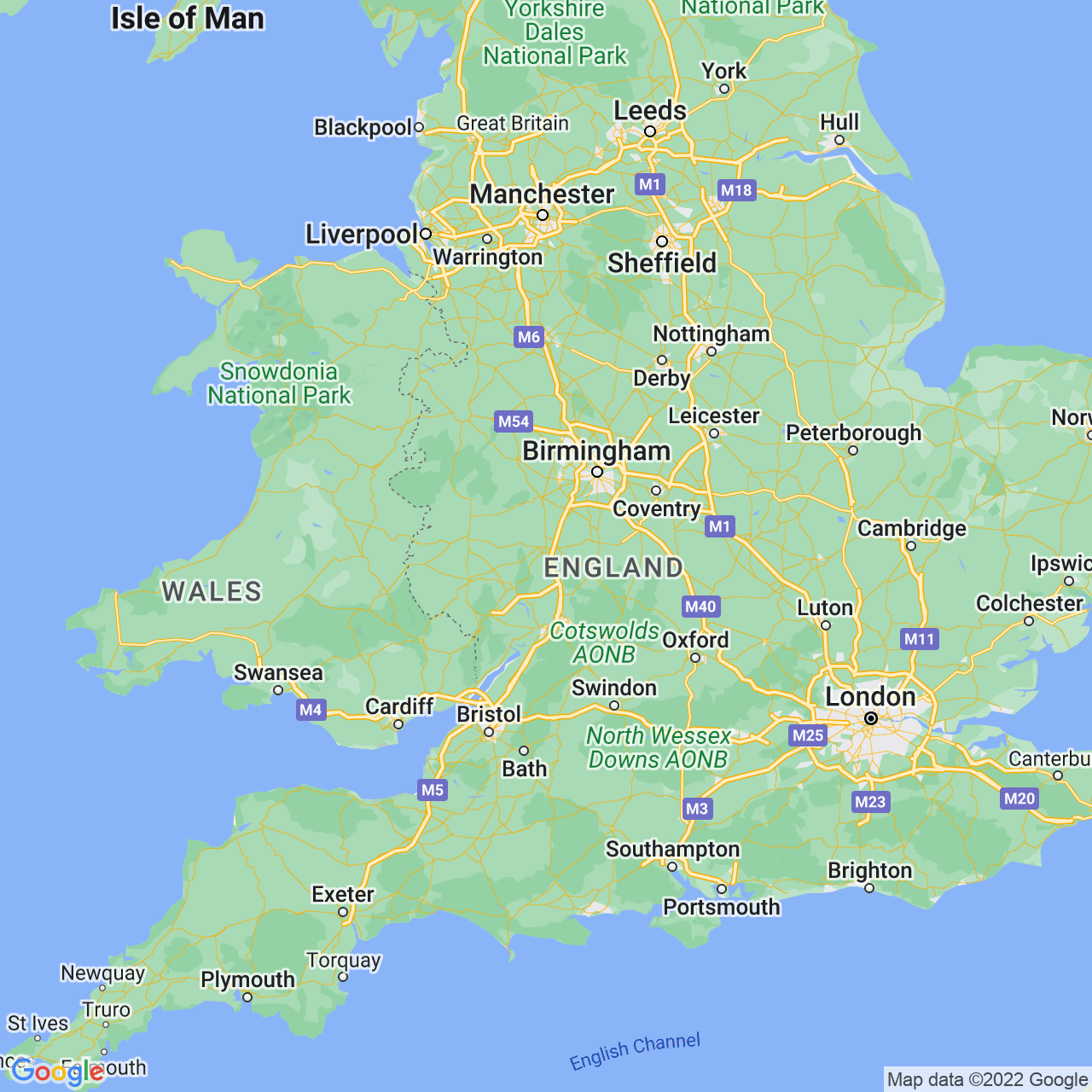 Worcester, England Map