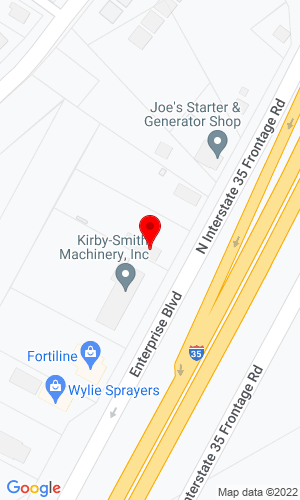 Google Map of World Lift Truck, Inc. 419 Enterprise Boulevard, Hewitt, TX, 76643