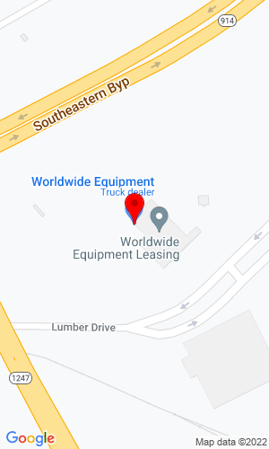 Google Map of Worldwide Equipment 208 Industry Road, Somerset, KY, 42501