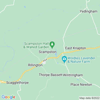 Scampston Hall Location