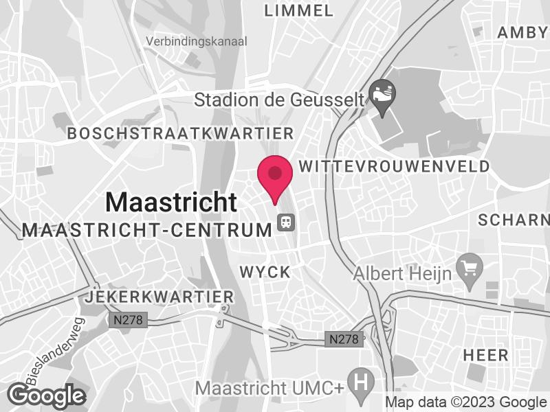 Google Map of YOUZ Parallelweg 45 6221 BD Maastricht