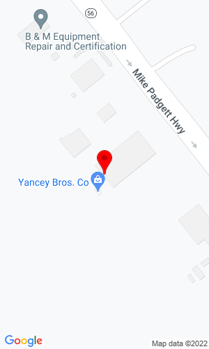 Google Map of Yancey Rents 4165 Mike Padgett Hwy, Augusta, GA, 30906