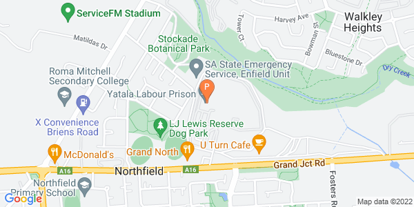 Map of Yatala Labour Prison