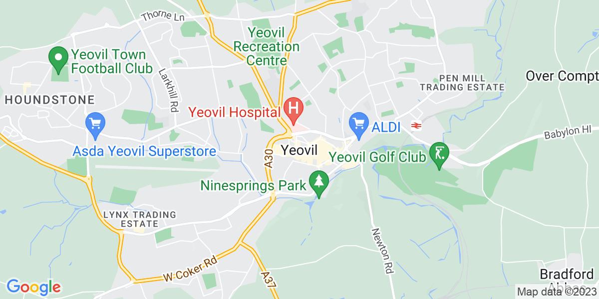 Map: TV & Satellite Engineer / Trainee position in Yeovil