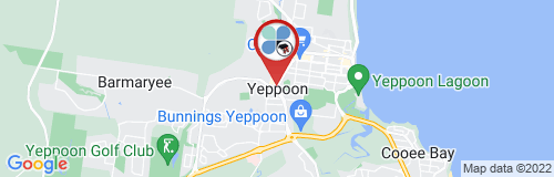 Yeppoon google map