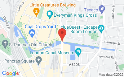 Map of 10to8 London