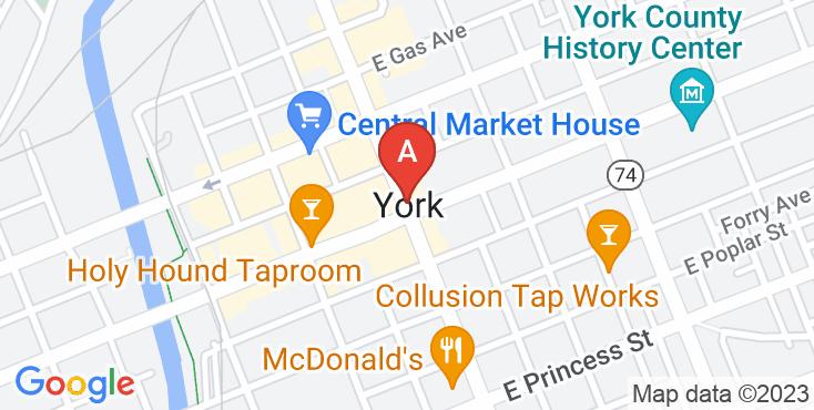 Pest Control York Exterminating Location on Google Maps