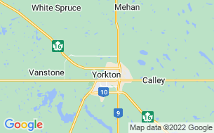 Map of City of Yorkton Campground