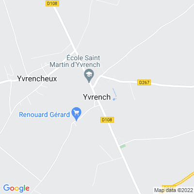 bed and breakfast Yvrench